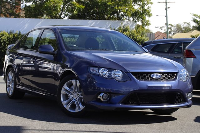 Used Ford Falcon FG XR6 Mount Gravatt, 2009 Ford Falcon FG XR6 Blue 5 Speed Sports Automatic Sedan