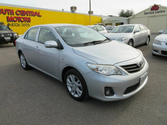 Used Toyota Corolla ZRE152R MY11 Ascent Sport Morphett Vale, 2012 Toyota Corolla ZRE152R MY11 Ascent Sport Blue 6 Speed Manual Sedan
