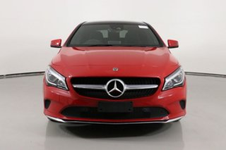 2018 Mercedes-Benz CLA180 117 MY18.5 Red 7 Speed Automatic Coupe.