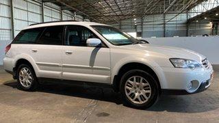 2006 Subaru Outback B4A MY06 AWD White 4 Speed Sports Automatic Wagon.