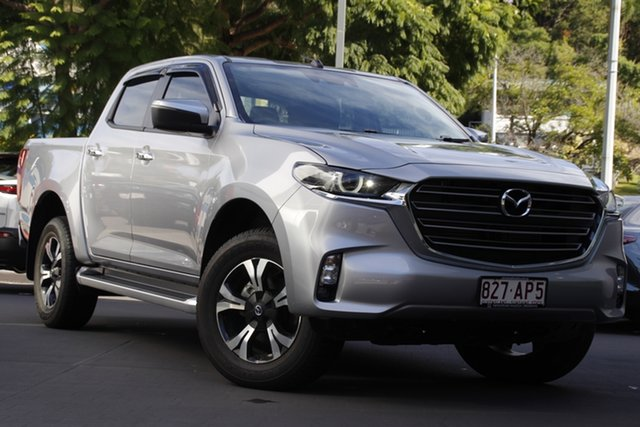 Demo Mazda BT-50 TFS40J XTR Newstead, 2020 Mazda BT-50 TFS40J XTR Ingot Silver 6 Speed Sports Automatic Utility
