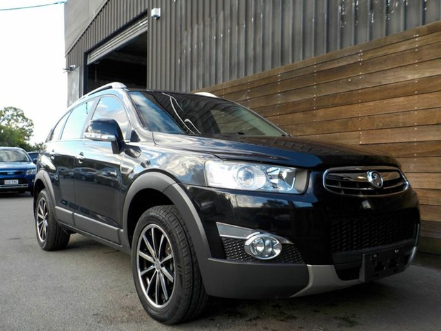 Used Holden Captiva CG Series II 7 AWD LX Labrador, 2012 Holden Captiva CG Series II 7 AWD LX Black 6 Speed Sports Automatic Wagon