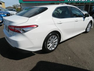 2019 Toyota Camry AXVH71R Ascent White 6 Speed Constant Variable Sedan Hybrid