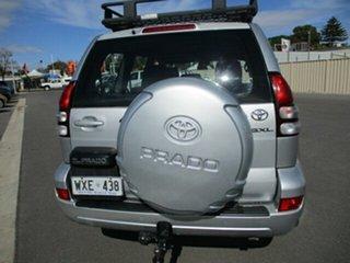 2003 Toyota Landcruiser Prado KZJ120R GXL Silver 4 Speed Automatic Wagon