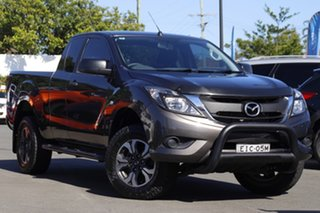 2016 Mazda BT-50 UR0YF1 XT 4x2 Hi-Rider Bronze 6 Speed Manual Utility.