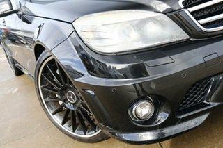 2009 Mercedes-Benz C-Class W204 C63 AMG Black 7 Speed Sports Automatic Sedan.