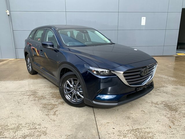 New Mazda CX-9 TC Sport SKYACTIV-Drive Alexandria, 2021 Mazda CX-9 TC Sport SKYACTIV-Drive Deep Crystal Blue 6 Speed Sports Automatic Wagon