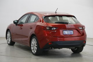 2016 Mazda 3 BM5438 SP25 SKYACTIV-Drive Red 6 Speed Sports Automatic Hatchback