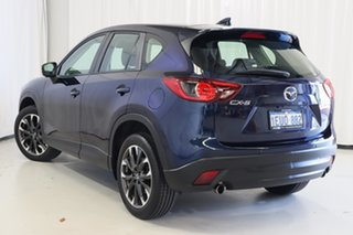 2015 Mazda CX-5 KE1032 Akera SKYACTIV-Drive AWD Blue 6 Speed Sports Automatic Wagon.