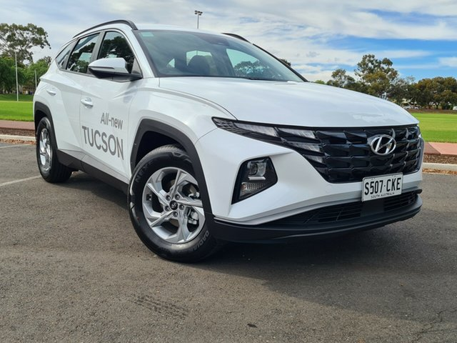 Demo Hyundai Tucson NX4.V1 MY22 2WD Nailsworth, 2021 Hyundai Tucson NX4.V1 MY22 2WD White Cream 6 Speed Automatic Wagon