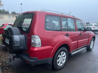 2009 Mitsubishi Pajero NT MY09 GLX Burgundy 5 Speed Sports Automatic Wagon.