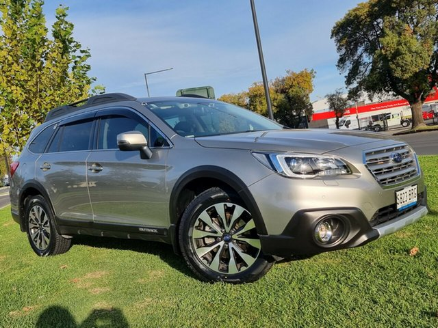 Used Subaru Outback B6A MY17 2.5i CVT AWD Premium Hindmarsh, 2017 Subaru Outback B6A MY17 2.5i CVT AWD Premium Silver 6 Speed Constant Variable Wagon