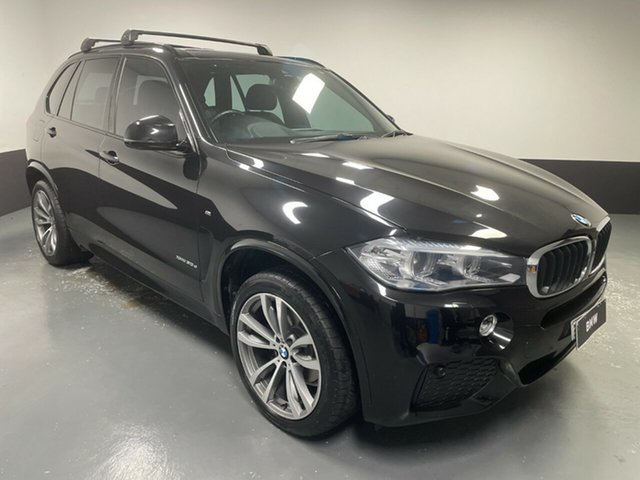 Used BMW X5 F15 xDrive30d Newcastle West, 2016 BMW X5 F15 xDrive30d Black Sapphire 8 Speed Sports Automatic Wagon