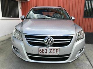 2009 Volkswagen Tiguan 5N MY09 103TDI 4MOTION Silver 6 Speed Sports Automatic Wagon.