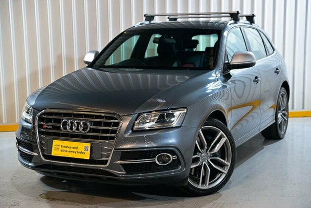 Used Audi SQ5 8R MY15 TDI Tiptronic Quattro Hendra, 2014 Audi SQ5 8R MY15 TDI Tiptronic Quattro Grey 8 Speed Sports Automatic Wagon