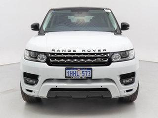 2014 Land Rover Range Rover LW Sport 3.0 TDV6 SE White 8 Speed Automatic Wagon.