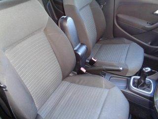 2010 Volkswagen Polo 6R 77TSI Comfortline Black 6 Speed Manual Hatchback