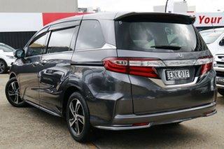 2016 Honda Odyssey RC MY16 VTi-L Grey 7 Speed Constant Variable Wagon.
