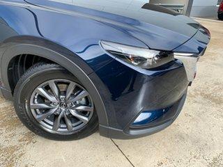 2021 Mazda CX-9 TC Sport SKYACTIV-Drive Deep Crystal Blue 6 Speed Sports Automatic Wagon.