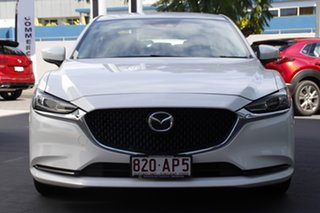 2020 Mazda 6 GL1033 Sport SKYACTIV-Drive Snowflake White 6 Speed Sports Automatic Sedan.