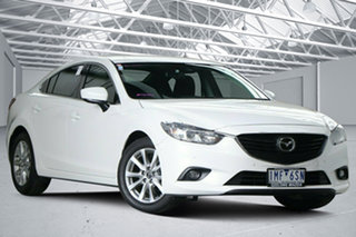 2017 Mazda 6 6C MY17 (gl) Sport Snowflake White 6 Speed Automatic Sedan.