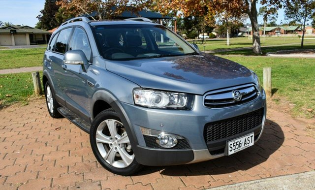 Used Holden Captiva CG Series II 7 AWD LX Ingle Farm, 2012 Holden Captiva CG Series II 7 AWD LX Grey 6 Speed Sports Automatic Wagon