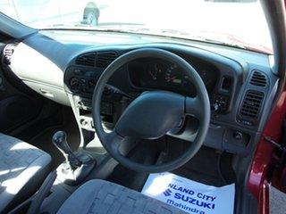 2001 Mitsubishi Lancer CE GLi Burgundy 5 Speed Manual Sedan