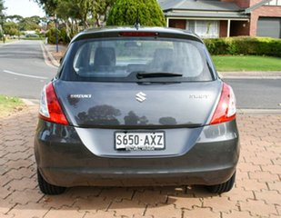 2013 Suzuki Swift FZ GLX Grey 5 Speed Manual Hatchback