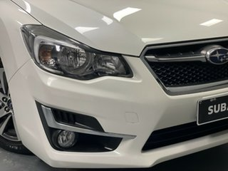 2016 Subaru Impreza G4 MY16 2.0i Lineartronic AWD Premium White 6 Speed Constant Variable Hatchback.