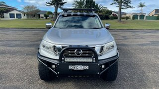 2015 Nissan Navara D23 ST-X Silver 6 Speed Manual Utility.