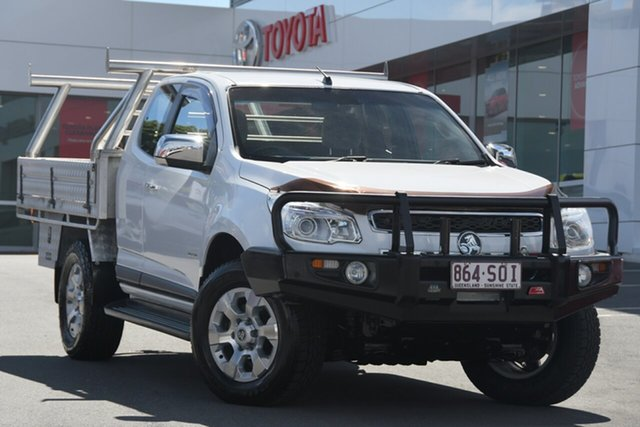 Pre-Owned Holden Colorado RG MY13 LTZ Space Cab Woolloongabba, 2012 Holden Colorado RG MY13 LTZ Space Cab White 6 Speed Sports Automatic Utility