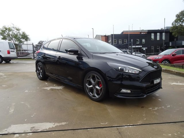 Used Ford Focus LZ ST Nowra, 2017 Ford Focus LZ ST Shadow Black 6 Speed Manual Hatchback