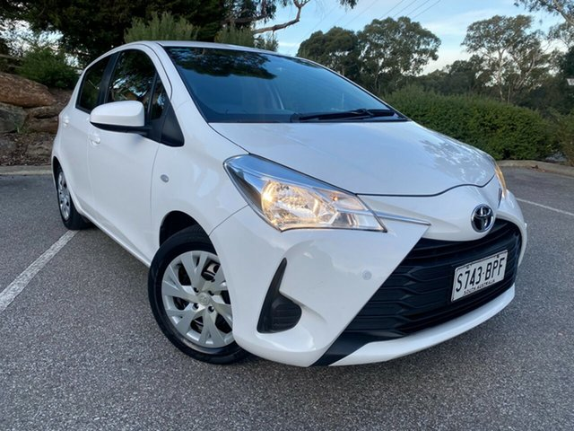 Used Toyota Yaris NCP130R Ascent Totness, 2017 Toyota Yaris NCP130R Ascent White 4 Speed Automatic Hatchback