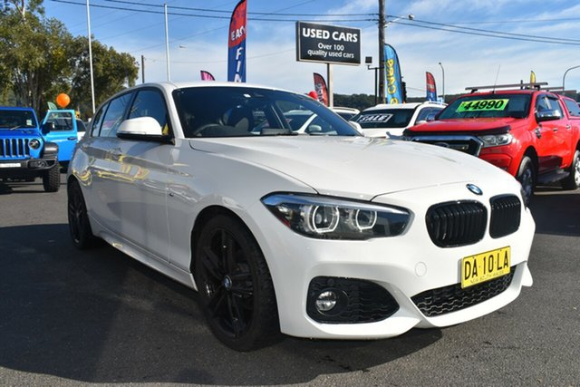 Used BMW 1 Series F20 LCI-2 118i Steptronic M Sport Gosford, 2019 BMW 1 Series F20 LCI-2 118i Steptronic M Sport White 8 Speed Sports Automatic Hatchback