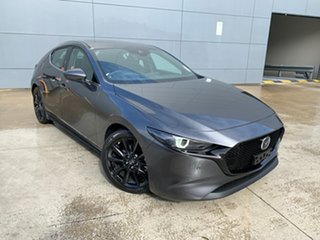 2021 Mazda 3 BP2HLA G25 SKYACTIV-Drive Astina Machine Grey 6 Speed Sports Automatic Hatchback.