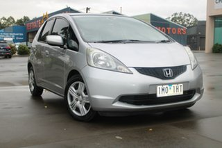2010 Honda Jazz GE VTi Silver 5 Speed Automatic Hatchback.