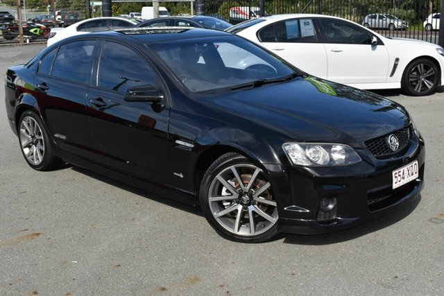 Used Holden Commodore VE II SS-V Underwood, 2011 Holden Commodore VE II SS-V Black 6 Speed Manual Sedan