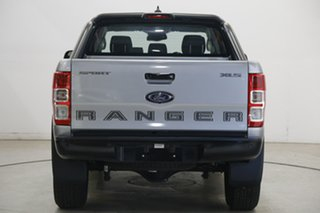 2020 Ford Ranger PX MkIII 2020.75MY Sport Silver 6 Speed Sports Automatic Double Cab Pick Up
