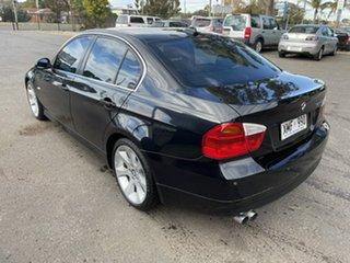 2007 BMW 3 Series E90 325i Steptronic Black 6 Speed Sports Automatic Sedan