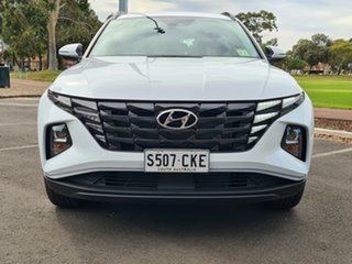 2021 Hyundai Tucson NX4.V1 MY22 2WD White Cream 6 Speed Automatic Wagon