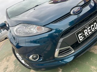 2011 Ford Fiesta WT Zetec Blue 5 Speed Manual Hatchback.