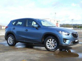 2014 Mazda CX-5 KE1032 Maxx SKYACTIV-Drive AWD Sport Blue 6 Speed Sports Automatic Wagon.
