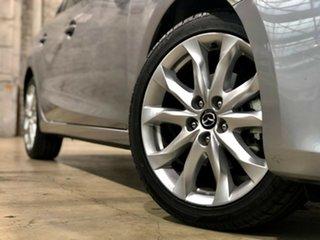 2015 Mazda 3 BM5438 SP25 SKYACTIV-Drive Silver 6 Speed Sports Automatic Hatchback