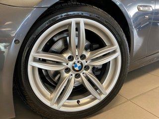 2015 BMW 5 Series F10 LCI 528i Steptronic M Sport Mineral Grey 8 Speed Sports Automatic Sedan.