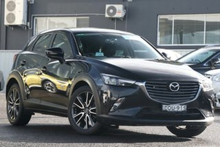 2016 Mazda CX-3 DK2W76 sTouring SKYACTIV-MT Black 6 Speed Manual Wagon.