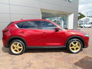 2019 Mazda CX-5 KF4WLA Akera SKYACTIV-Drive i-ACTIV AWD Red 6 Speed Sports Automatic Wagon.