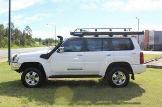 2008 Nissan Patrol GU 6 MY08 ST White 4 Speed Automatic Wagon