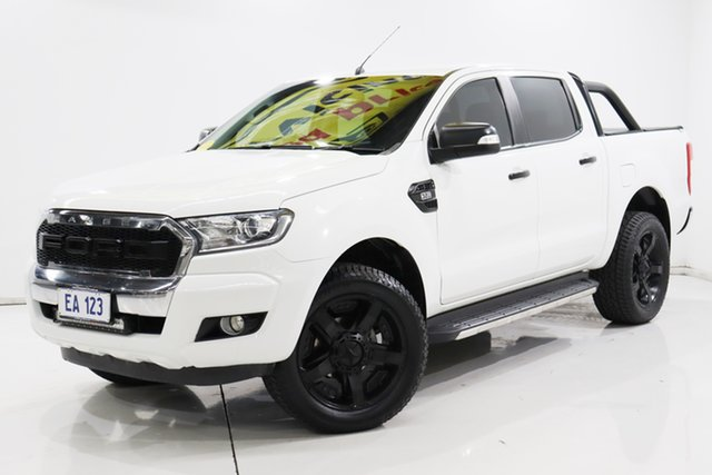 Used Ford Ranger PX MkII XLT Double Cab Brooklyn, 2015 Ford Ranger PX MkII XLT Double Cab White 6 Speed Sports Automatic Utility
