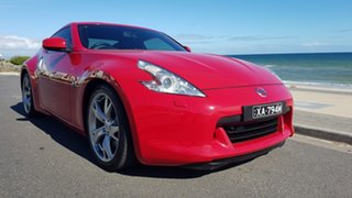 2010 Nissan 370Z Z34 MY10 Red 7 Speed Automatic Coupe.