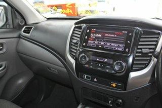2017 Mitsubishi Triton MQ MY18 GLS (4x4) Grey 5 Speed Automatic Dual Cab Utility